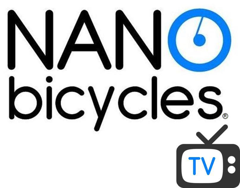 more on NANO bicycles  TV  Volume Bikes Logo